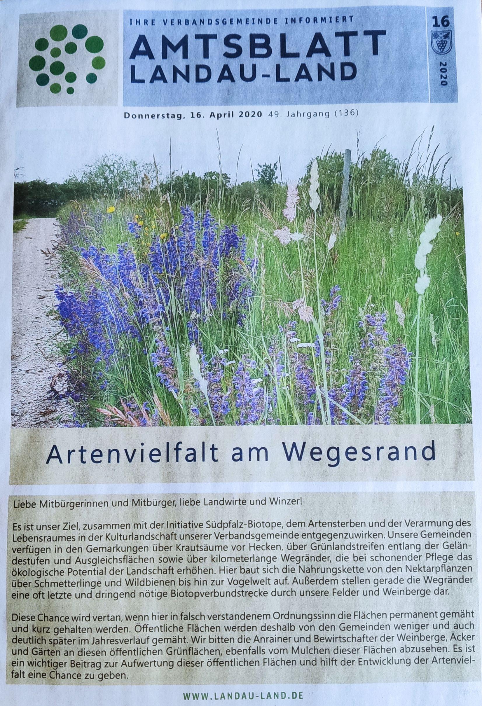 Amtsblatt Landau-Land